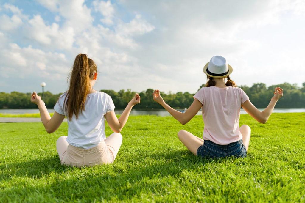 медитация в санатории для похудения