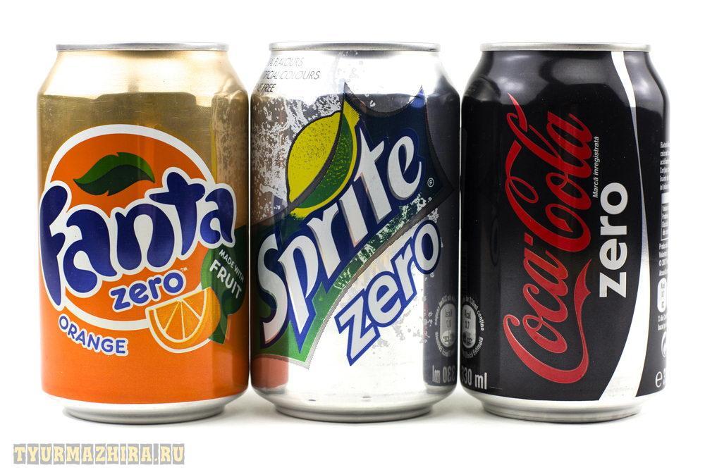 13 Миф: диетические напитки не содержат калорий, поэтому их можно пить сколько вздумается.