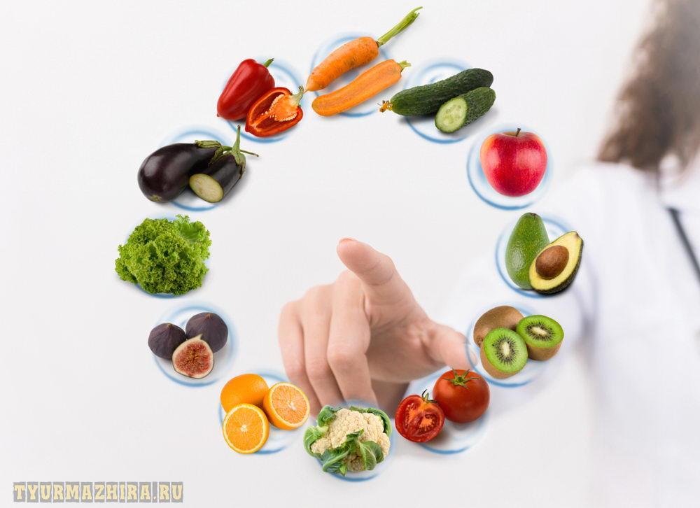 Индивидуальный подбор диетического питания