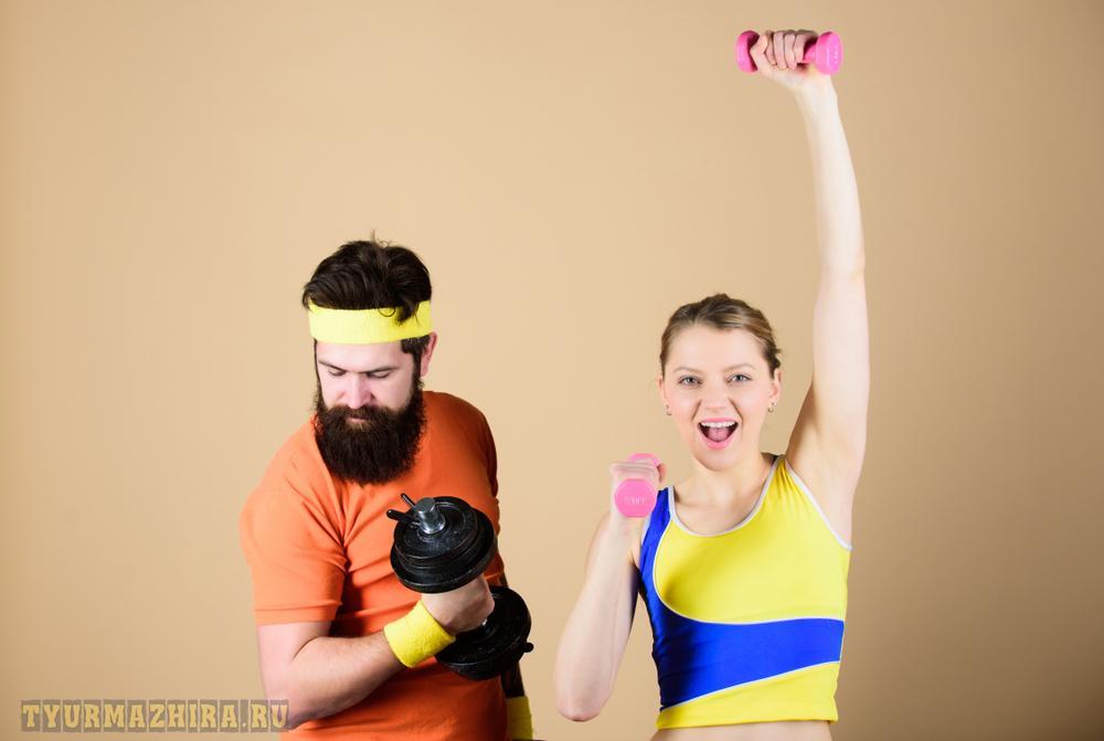 Физические упражнения – основной способ борьбы с ожирением